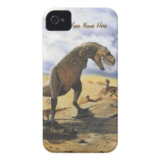 Familia del dinosaurio iPhone-Barely allí iPhone 4 Case-Mate Carcasa