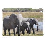 Familia del elefante iPad mini funda