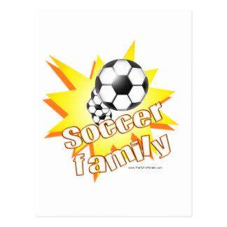 Familia del fútbol postal
