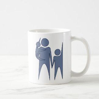 Familia del humanista tazas de café