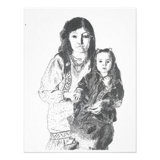 Familia del Inuit Invitacion Personal