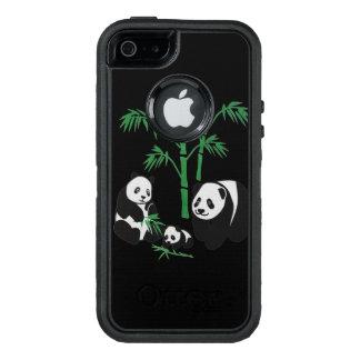 Familia del oso de panda funda OtterBox defender para iPhone 5