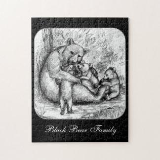 Familia del oso puzzle