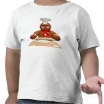Familia del pan de jengibre: Pequeño panadero Camisetas