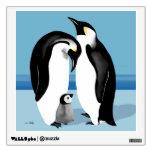 Familia del pingüino de emperador