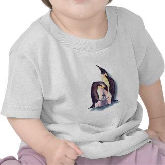 FAMILIA del PINGÜINO de SHARON SHARPE Camiseta