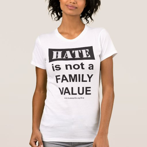 Familia destruida camisetas