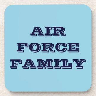 Familia determinada de la fuerza aérea del práctic posavaso