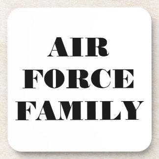 Familia determinada de la fuerza aérea del práctic posavasos de bebida