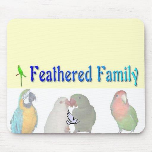 Familia emplumada MousePad