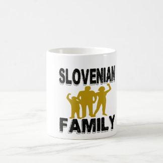 Familia eslovena taza básica blanca