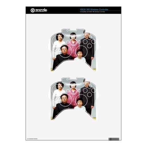 Familia feliz de Kim Mando Xbox 360 Skin