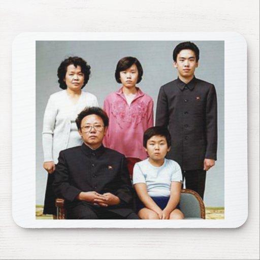 Familia feliz de Kim Tapete De Ratones