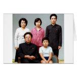 Familia feliz de Kim Tarjetón