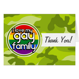 Familia gay; camo verde claro, camuflaje tarjeton