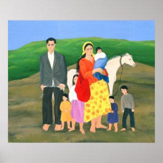 Familia gitana 1986 póster