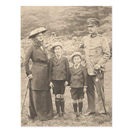 Familia granducal de Hesse #004D Postales