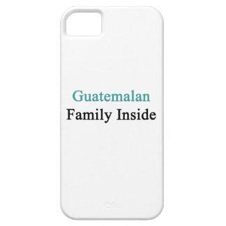Familia guatemalteca dentro iPhone 5 carcasas