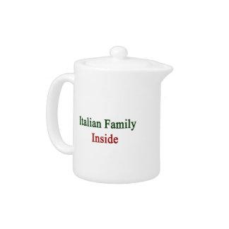 Familia italiana dentro