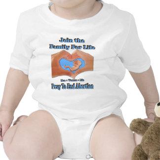 Familia para la vida trajes de bebé