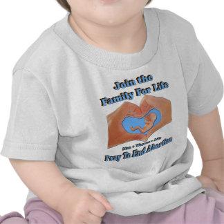 Familia para la vida camiseta