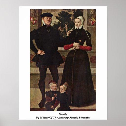Familia por el amo de los retratos de la familia d impresiones