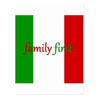 FAMILIA PRIMERO - Italia/México/familia Postal