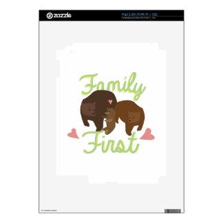 Familia primero skins para iPad 2