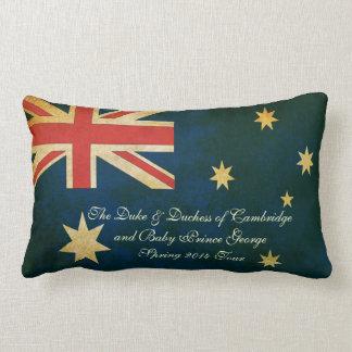 Familia real almohada australiana y BRITÁNICA de 2