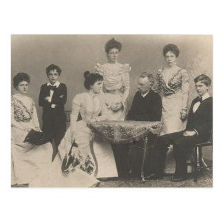 Familia real (parientes Sissi) de Baviera #041B Postales