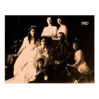 Familia real rusa 1914 tarjetas postales