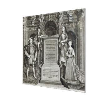 Familia Regia Canvas Print