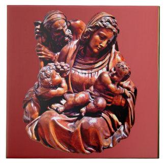 Familia santa azulejo