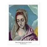 Familia santa con el detalle de St Anne de El Grec Postal