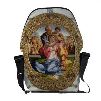 Familia santa con St. John (Doni Tondo), 1504-05 ( Bolsa De Mensajeria