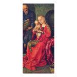 Familia santa de Schongauer Martin (la mejor calid Lonas Personalizadas