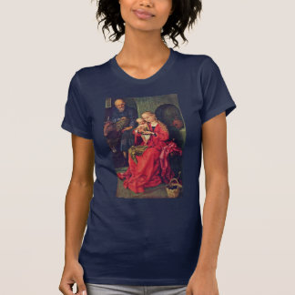 Familia santa de Schongauer Martin (la mejor Playeras