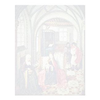 Familia santa en el cuarto con Ana y Joaquín por N Membrete A Diseño