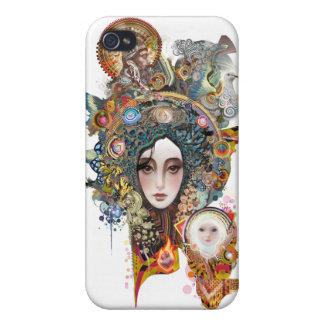 familia santa iPhone 4 carcasas