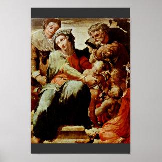 Familia santa, por Tibaldi Pellegrino (la mejor ca Posters