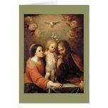 Familia santa - Sacrada Familia Tarjeta De Felicitación