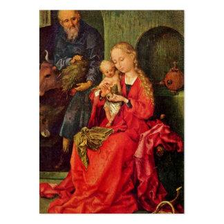 Familia santa tarjetas de visita grandes