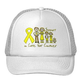 Familia Supprt del sarcoma de Ewings una curación Gorras
