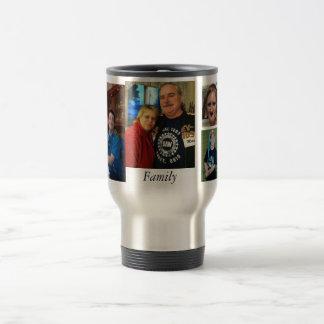 familia taza de viaje de acero inoxidable