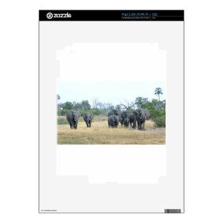 Familia Tom Wurl.jpg del elefante Calcomanía Para iPad 2