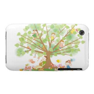 Familia y árbol iPhone 3 Case-Mate coberturas