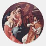 Familia y St Ignatius santos de Loyola por el SE d Pegatinas