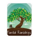 Familial Ramblings Magnet