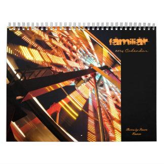 """Familiar"" - Calendar"