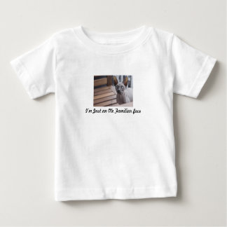 Familiar Face Baby T-Shirt